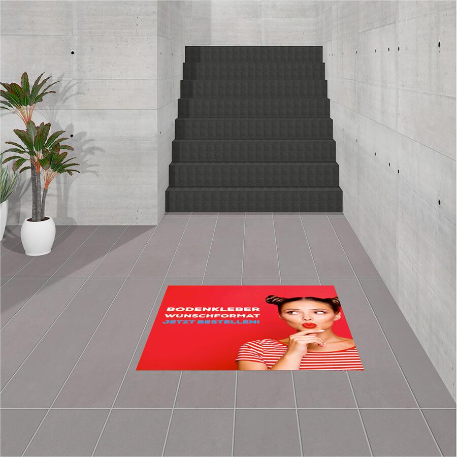 Fußboden Aufkleber ECO