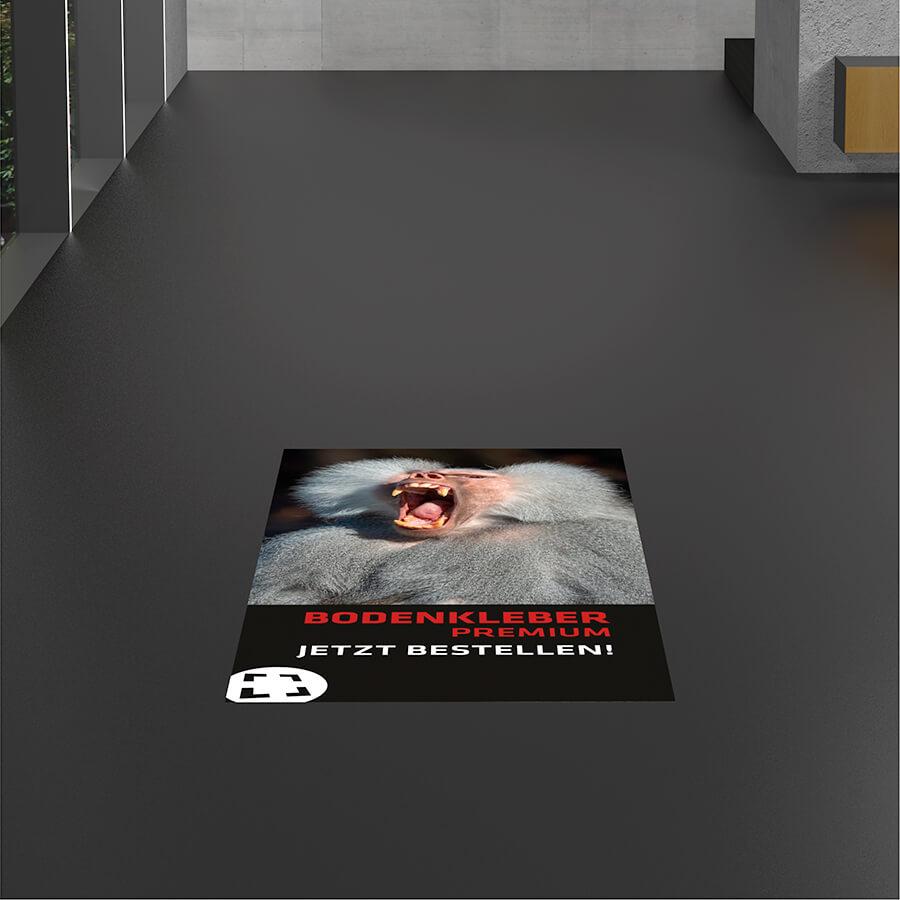 Fußboden Aufkleber PREMIUM (R10)